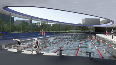 Overlooked... but inspired<br />Design Competition: Green Square Aquatic Centre